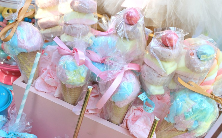 icecream cotton candy