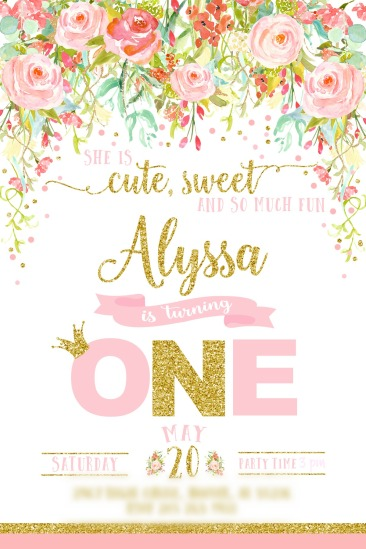Alyssa's Custom Invite